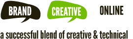 Brand, Creative, Online - a successful blend of creative & technical
